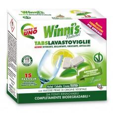 Гіпоалергенні таблетки для посудомийних машин WINNI'S TABS LAVASTOVIGLIE 15 шт