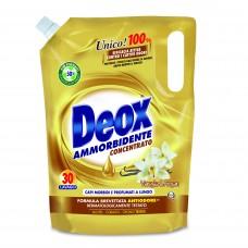 Кондиционер-ополаскиватель с ароматом ванили  DEOX AMMORBIDENTE VANIGLIA E ARGAN 750 ml.