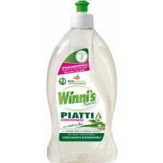 Концентрований засіб з алое для посуду  WINNI'S PIATTI CONCENTRATO ALOE 500 ml