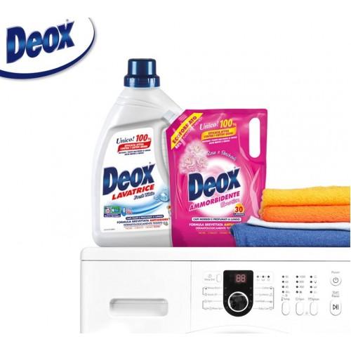 Deox -безфосфатні засоби для прання преміум класу.