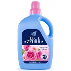 "Пом`якшувач для тканин Роза та Лотос Felce Azzurra ""Rosa e Fior di Loto"" Ammorbidente 3000 ml"