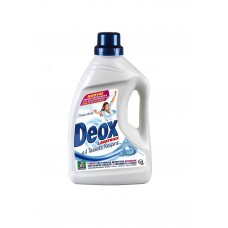 Жидкий стиральный порошок Белая свежесть  DEOX LAVATRICE FRESH WHITE 1,650 мл