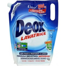 Жидкий стиральный порошок DEOX Lavatrice Fresh Blu Экоформат 1375 мл (25 стирок)