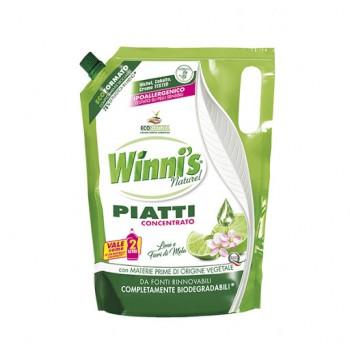 Засіб для миття посуду WINNI'S PIATTI LIME ECO-RICARICA 1000 ml