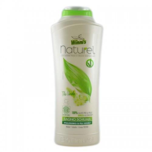 Пінна для ванної Зелений Чай   (8pz) WINNI'S Bagno Schiuma Thè Verde 500 ml
