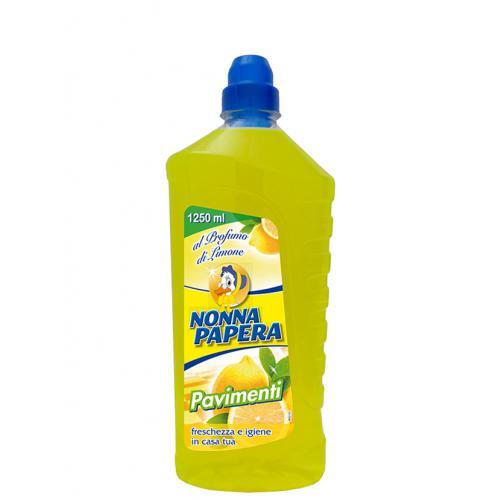 Засіб для миття підлоги з ароматом лимону NONNA PAPERA PAVIMENTI 1.25 LT LIMONE
