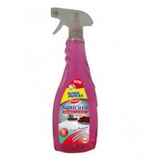 Універсальний чистячий засіб зі спиртом NONNA PAPERA TRIGGER 750 ML SANICASA