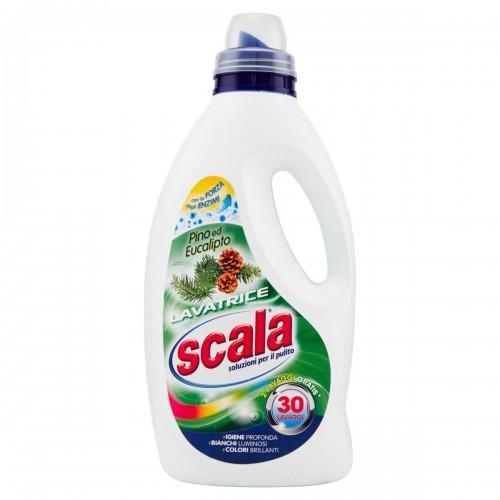 Засіб для прання Хвоя та Евкаліпт  SCALA LAVATRICE PINO & EUCALIPTO 1500 ML