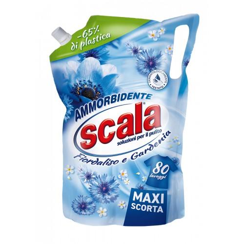 Концентрований кондиціонер-ополіскувач (дойпак) Scala Ammorbidente Fiordalisio & Gardenia 2000 ml