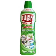 Засіб для видалення вапняного нальоту з дезинфікуючим  ефектом PULIRAPID Igienizzante 500 ml.