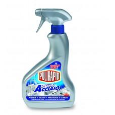 Засіб для чищення металев поверхонь PULIRAPID SPLENDI ACCIAIO 500 ml.