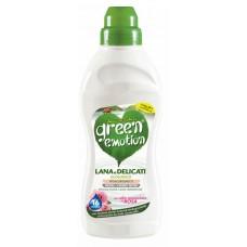 ЕКО  засіб для прання делікатних та шерстяних речей GREEN EMOTION lana e delicate 750 ml.