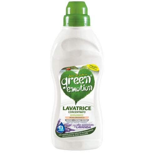 ЕКО засіб для прання концентр. Лаванда GREEN EMOTION lavatrice con. LAVANDA 750 ml.