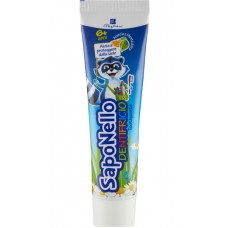 Saponello Dentifricio Toothpaste 6+ / Дитяча зубна паста для дітей віком від 6-х років 75мл.