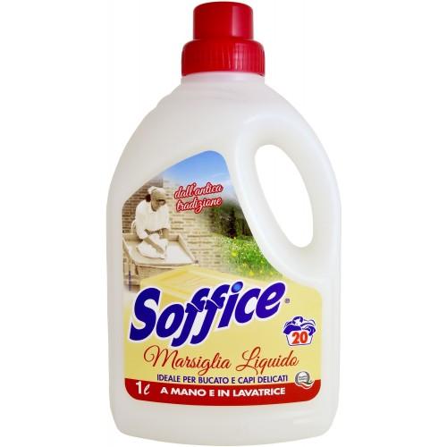 Рідкий засіб для прання з марсельським милом  SOFFICE LAVATRICE MARSIGLIA 1L